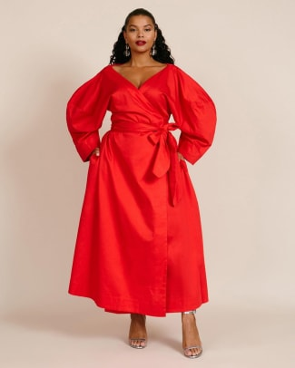 mara-hoffman-Red-Agnella-Dress