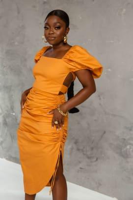kai-collective-zanaya-dress-ginger-midi-puff-sleeve-6