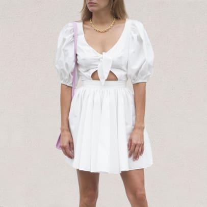 rotate white dress