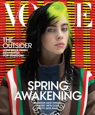 billie eilish vogue cover march 20201