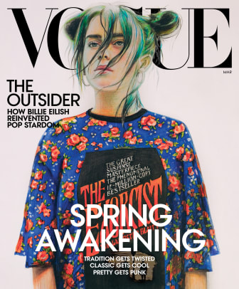 billie eilish vogue cover march 20207