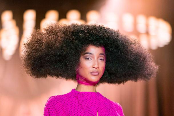 Christopher John Rogers Fall 2020 beauty veils 3