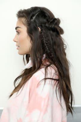 Rebecca Minkoff Fall 2020 beauty braids 2