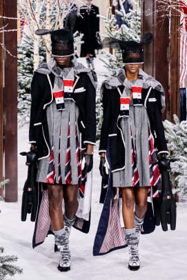 Thom Browne Fall 2020 Look 1