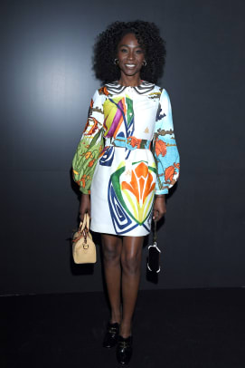 Angelica Ross Louis Vuitton Fall 2020 Show