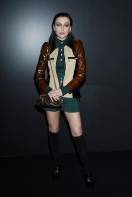 Emma Chamberlain Louis Vuitton Fall 2020 Show