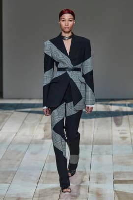 Alexander McQueen Fall 2020 Look 1