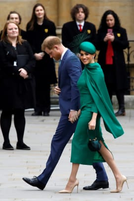 meghan markle emilia wickstead dress commonwealth day