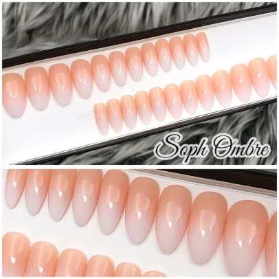 The Nailest Instant Glam-Soph Ombre Press On Nail Set