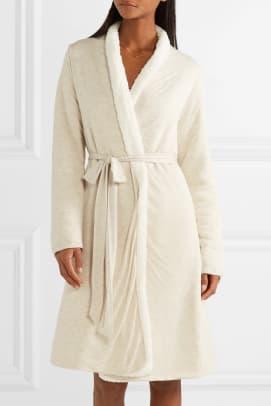eberjey shearling robe