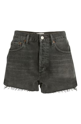 agolde parket cutoff denim shorts