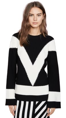victor-glemaud-v-neck-long-sleeve-sweater-shopbop
