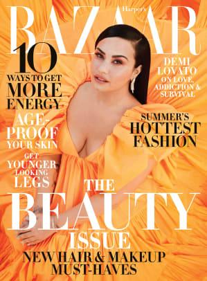HB May 2020 Cover Demi Lovato Valentino