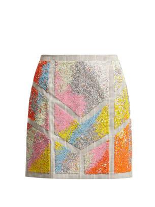 kevin germanier recycled bead skirt