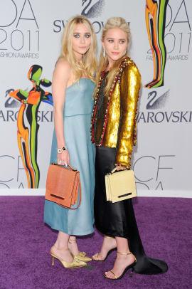 Mary Kate and Ashley Olsen CFDA Awards 2011