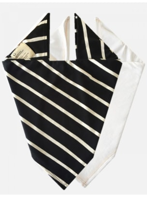 for days black and white stripe bandana