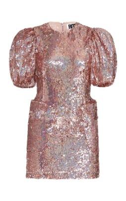 Rotate Katie Sequined Mini Dress Moda Operandi