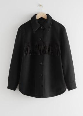 other stories fringe jacket