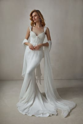 KATHERINE TASH-fall-2022-bridal-wedding-dress-ruching