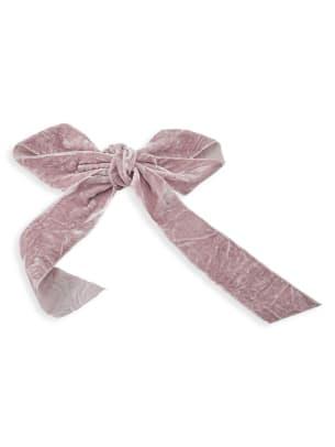 lelet crushed velvet bow
