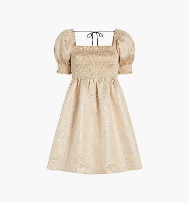 hill house home athena gold nap dress