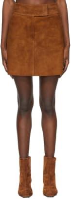 khaite-tan-suede-the-giulia-miniskirt