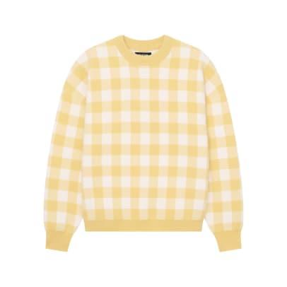 Naadam Gingham Sweater