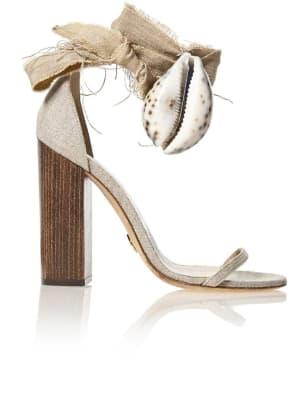 brother vellies linen heels