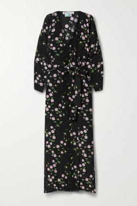 bernadette wrap dress