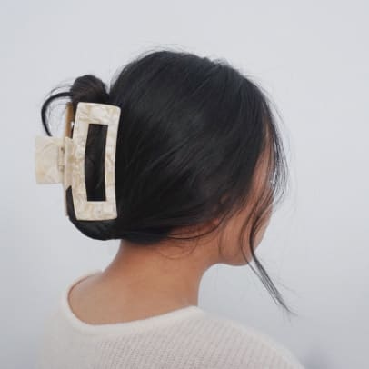 Laurel Canyon CoMinimalist Large Hair Claw Clip Etsy