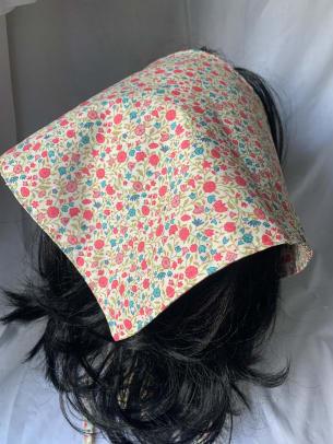 HiteyTitey Luxe Liberty print cotton headscarf Etsy