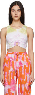 collina-strada-ssense-exclusive-green-flower-patch-center-ring-tank-top