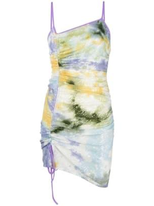 gcds ruched dress