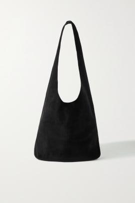 the row suede bag