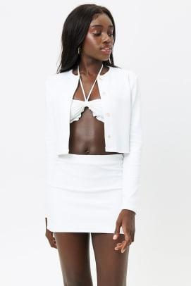 frankies bikinis white terry