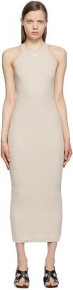 off-white-taupe-basic-dress