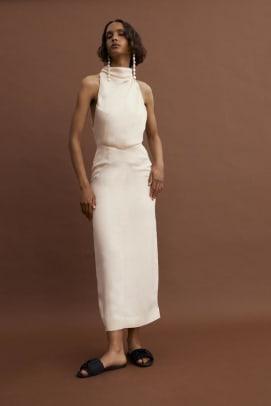 tove dress white