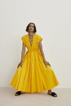 tove dress yellow