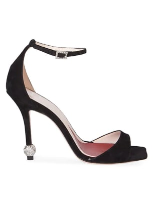 roger vivier suede heels