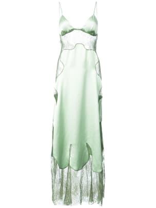 off-white lace slip dress