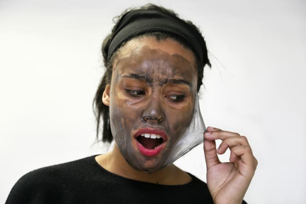 We Tried 7 Satisfyingly Weird Peel-Off Face Masks - Fashionista