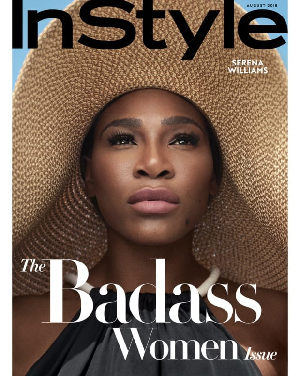 Serena Williams Covers First Badass Women Issue for 'InStyle