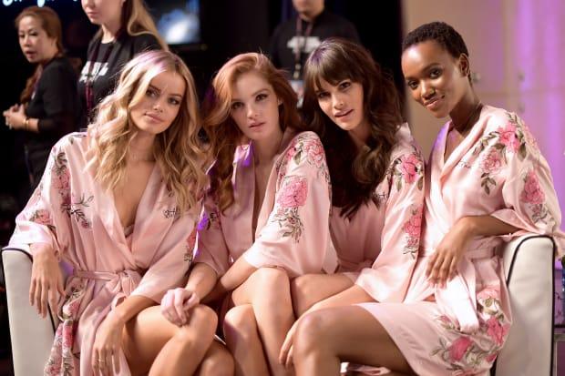 Victoria/'s Secret x Mary Katrantzou Lingerie High Waist Panty Fashion Show L