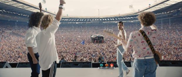 mejores ofertas en bien conocido baratas para la venta The Costumes in 'Bohemian Rhapsody' Help Rami Malek Victoriously ...