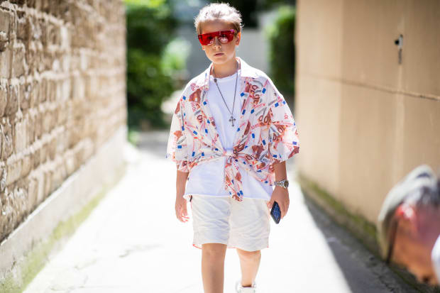Meet The Golden Fly A Budding Fashion Designer And Instagram S Youngest Hypebeast Fashionista