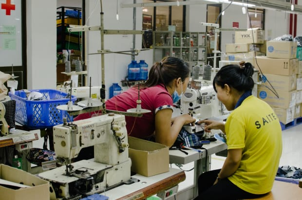 Factory Tour: Inside the Denim Factory Your Favorite Sustainable