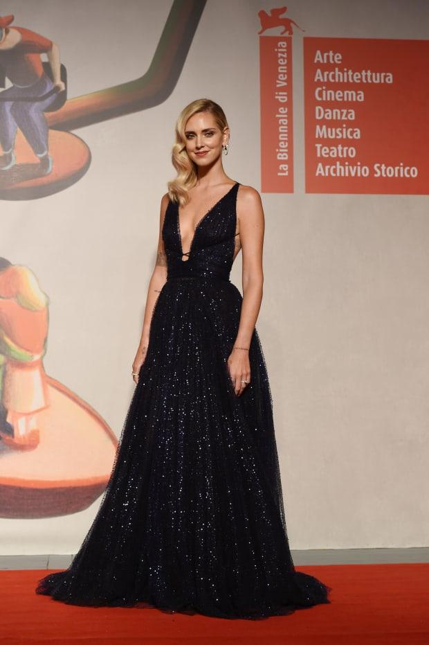 Chiara Ferragni Hits The Venice Film Festival In Dior