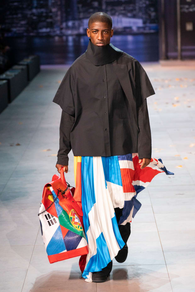 014efddb628 Virgil Abloh's Fall 2019 Collection for Louis Vuitton Men's Was a ...