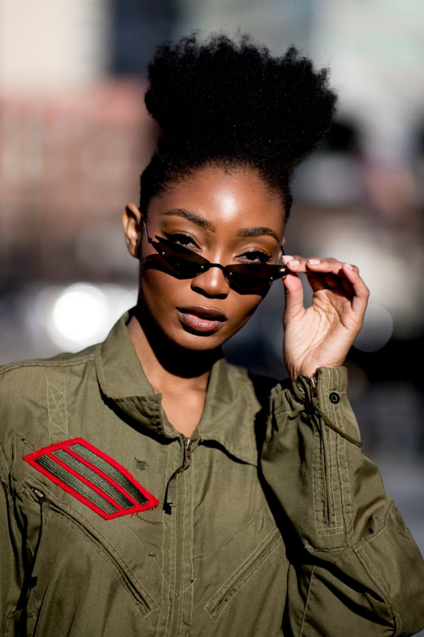31401556 The 112 Best Street Style Beauty Looks From Fall 2019 Fashion Month ...