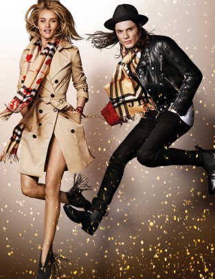 Rosie Huntington-Whiteley and James Bay in the Burberry Festive Campaign shot by Mario Testino.jpg
